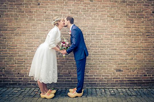 Klompen sind die schöneren Brautschuhe…